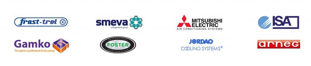 Brands we work with - J&M Refrigeration
